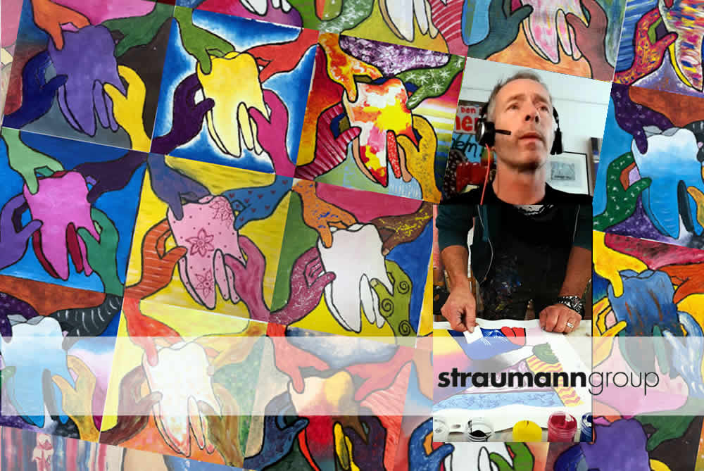 """Working from home"" with Straumann"